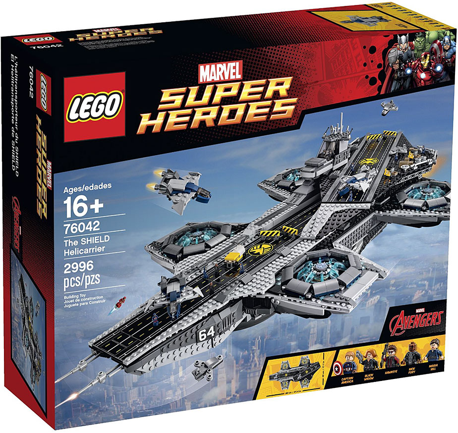 Lego Super Heroes Helicarrier S.H.I.E.L.D